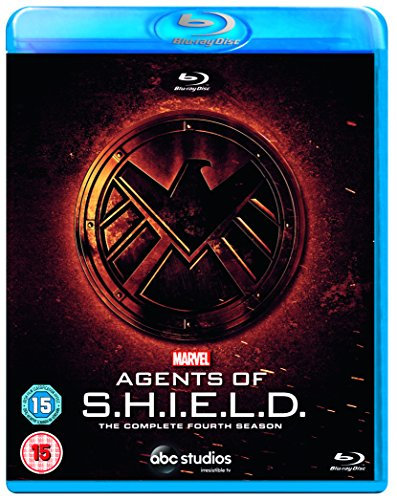 Marvels Agents Of S.H.I.E.L.D. S4 - Blu-ray [2018] [Region Free][Standard Version]- Assorted