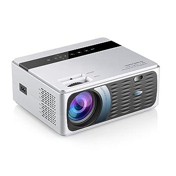 XIEXJ Proyector Portátil 1280X720p LED 8000 Lúmenes WiFi HDMI ...