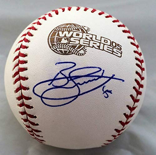 Bobby Jenks Autographed Signed Official Major League 2005 World Series Baseball JSA - Certified Authentic