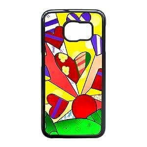 Samsung Galaxy S6 Edge Cases Cell Phone Case Cover Romero Britto 5R56T779885