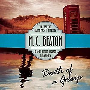 Death of a Gossip Audiobook