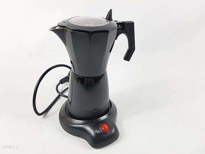 Kenex KXC-CE01 Cafetera Italiana Eléctrica, 6 Tazas: Amazon.es: Hogar