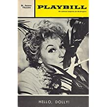 """Phyllis Diller """"HELLO DOLLY"""" Jerry Herman / Marcia Lewis 1969 Broadway Playbill"""