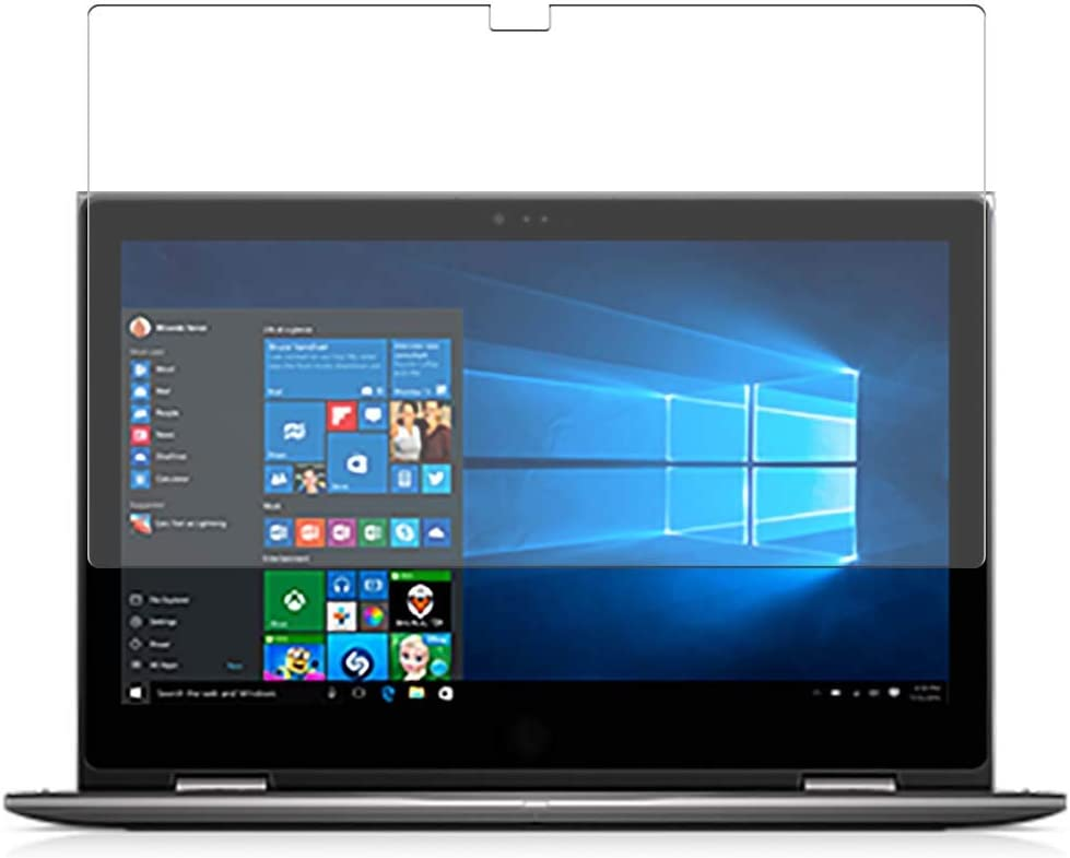 Puccy Privacy Screen Protector Film, Compatible with Dell Inspiron 15 5000 (5579) 2-in-1 15.6