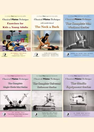 Classical Pilates 6 DVD Set Amazon Exclusive by Bayview Entertainment/Widowmaker