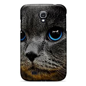 New Blue Eye Beauty Tpu Skin Case Compatible With Galaxy S4