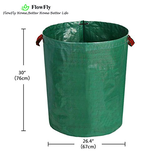 Review FlowFly Garden Waste Bags