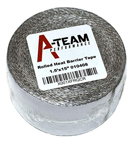 Thermo Shield Tape - A-Team Performance Heat Shield Tape with PSA Ultra-Lightweight Self-Adhesive Heat Resistant Heat Reflective Thermal Tape 1.5