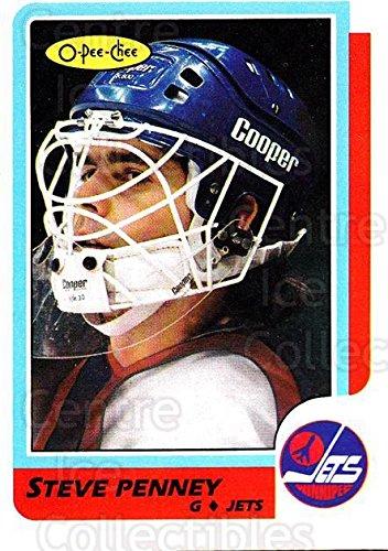 (CI) Steve Penney Hockey Card 1986-87 O-Pee-Chee (base) 222 Steve Penney (1986 87 O Pee Chee Hockey Cards)