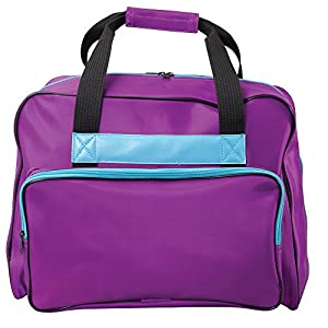 Janome 002purthunder Universal Sewing Machine Tote in Purple by Janome