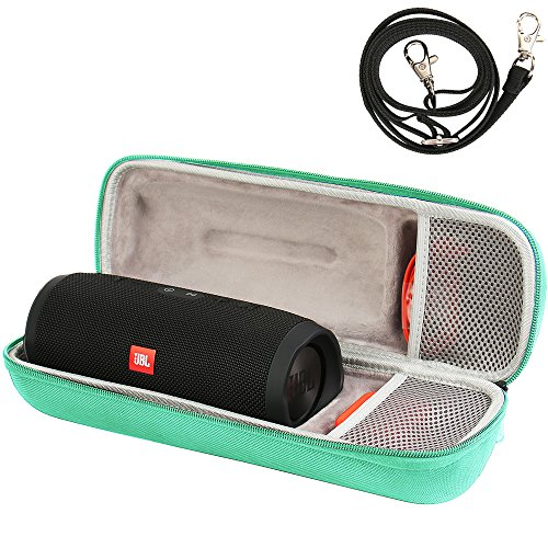 CASE Compatible with JBL Charge 3 JBLCHARGE3BLKAM Waterproof Portable Wireless Bluetooth Speaker - Fits USB Plug and Cable. by COMECASE