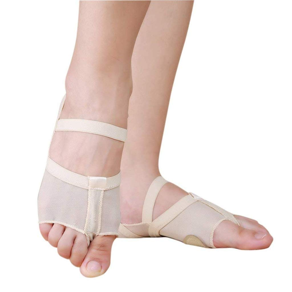 Belly//Ballet Dance Toe Pad Foot//Feet thong Protection Dance Socks 5 holes S L M
