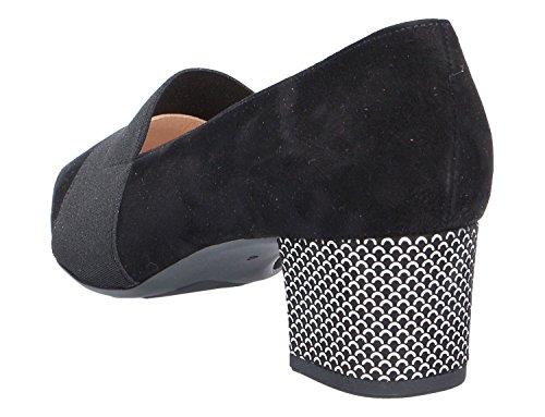 Donna scarpa décolleté Schwarz Suede nero, (SCHWARZ SUEDE) 47715/838