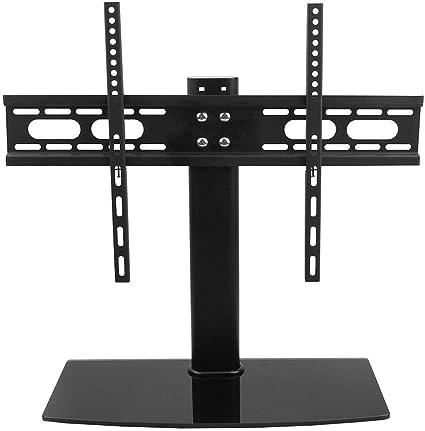 Soporte Universal de Mesa para TV de GOTOP, LCD, LED, VESA, Base de Pedestal de Cristal, Altura Ajustable, Soporte Doble para 52 – 71 Pulgadas: Amazon.es: Electrónica