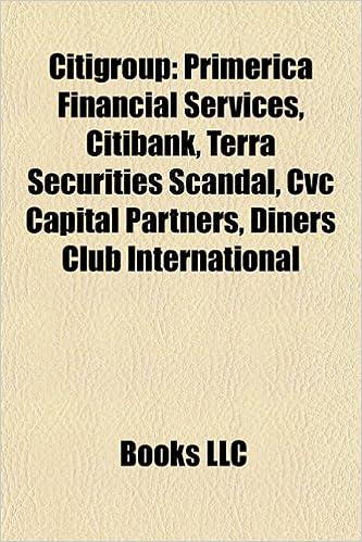 Citigroup: Citibank, Terra Securities scandal, Morgan Stanley Smith