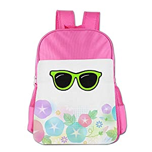 GABRIELA ROSALES Green Sunglasses Premium Unisex Children's Backpack Bag School Sport Shoulder Kids' Schoolbag Bags Satchel