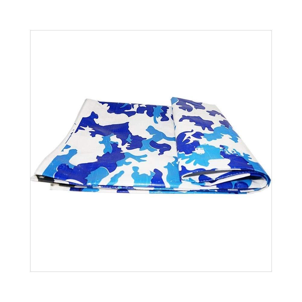 A 4 x 6m LQQGXL BÂche de Camouflage, Parasol extérieur de bÂche de bÂche de Camion antipoussière et Coupe-Vent, Anti-crème et Anti-oxydation d'animal et de Plante, BÂche imperméable à l'eau