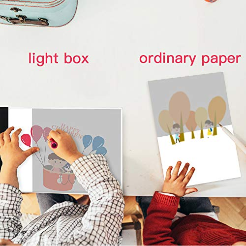 Designing Light Box LB-A4 LITE Sketching . Drawing Art Craft Drawing Tracing Tattoo Board for Artists Animation SAMTIAN A4 Light Box LED Copy Board Drawing Light Pad with USB Charger Cable