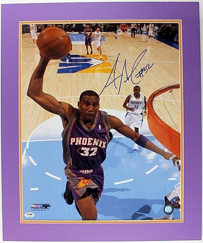 Amare Stoudemire Autographed 16x20 Photo Matted - PSA/DNA Authenticated