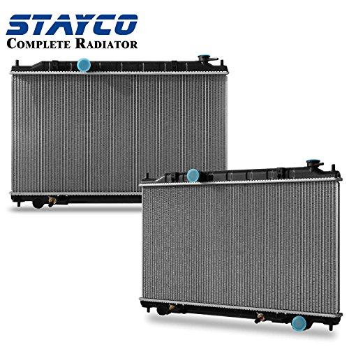 04 nissan maxima radiator - 4