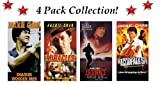 4 Pack Jackie Chan Collection:Shaolin Wooden Men, Miracles, Bloodpact & The Accidental Spy