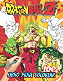 Dragon Ball Z Libro para colorear: Un magnífico