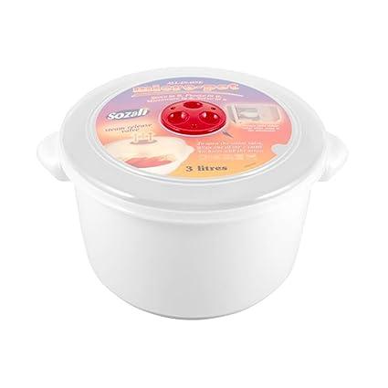 Alta calidad 3 litros cubo de recipientes para microondas ...