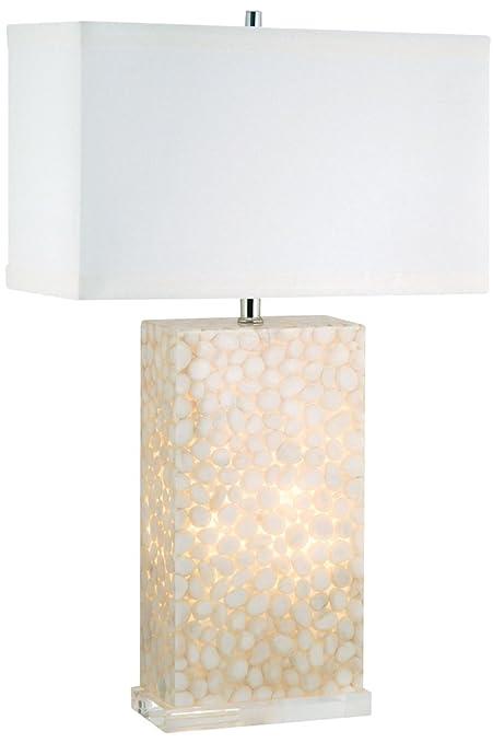 Amazon Com Dimond Lighting River Rock Table Lamp With Night Light