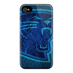TanyaCulver Iphone 6 Anti-Scratch Hard Cell-phone Case Allow Personal Design Attractive Carolina Panthers Image [QrE10516maqx]