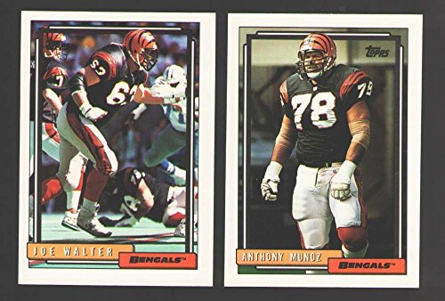 - 1992 Topps Football Team Set - CINCINNATI BENGALS