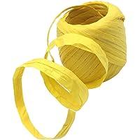 Fityle Cinta de Papel de Rafia Ecológica con Multicolores Suitable para Bolsas para Hornear Colgar Etiquetas de Bricolaje