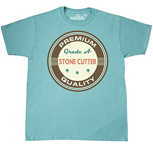 Cutter Scuba (Inktastic - Stone Cutter Vintage T-Shirt Large Scuba Blue 20b82)