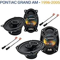 Pontiac Grand AM 1996-2005 OEM Speaker Upgrade Harmony R46 R69 Package New