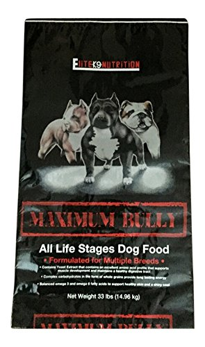 Elite K9 Nutrition Chicken and Pork Dog Food, 33 lb
