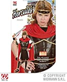 L Boys HERCULES Costume for Greek Olympian Fancy Dress Outfit Large 140cm 8-10yrs Childs Kids