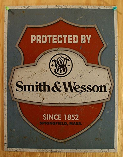 smith-wesson-protected-by-tin-sign-125-x-16-12x16