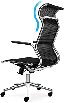 Amazon Com Wxf Mesh Office Chairs With Large Headrest Adjustable