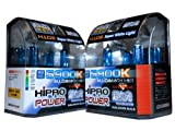 07 tahoe hid headlights - Hipro Power 9005 + H11 5900K Super White Xenon HID Headlight Bulbs - Low Beam & High Beam