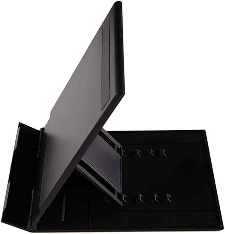 Galaga Soporte para computadora port/átil Soporte de Mesa de Escritorio port/átil Plegable Ajustable en 360 /° con Ventilador de enfriamiento Bandeja para Mouse Soporte para computadora port/átil