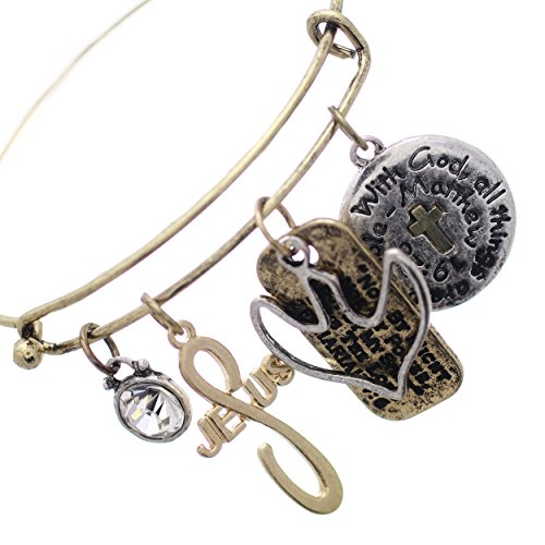 Opening Bible Charm (Rosemarie Collections Women's