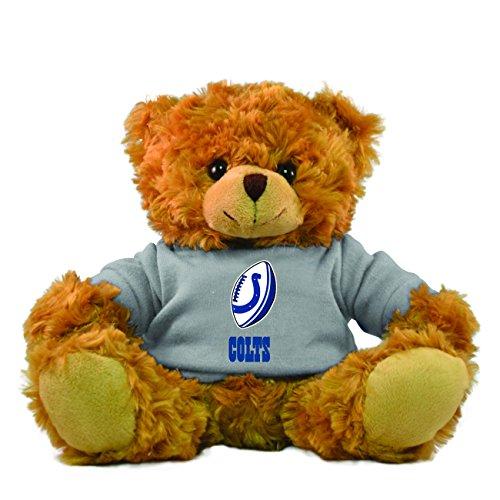 Gulf Coast Sales NFL Indianapolis Colts Hoodie Bear, Brown, 9-inch - Hoody Fan Gear