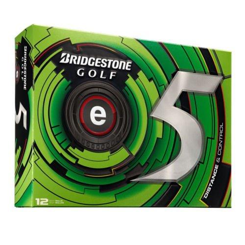 Bridgestone E5 Golf Balls - Bridgestone 2013 e5 Golf Ball 1 Dozen White New