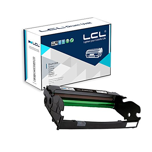 (LCL Remanufactured Drum Unit Replacement for Lexmark E250X22G E250D E250DN E350D E350DN E352DN E450 450N 450DN (1-Pack Black))