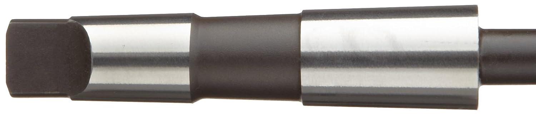 Left Hand Spiral Flute Size 7//16 Inch 60901 Alvord Polk 627-2 High-Speed Steel Bridge Reamer Bright Uncoated Finish #2 Morse Taper Shank