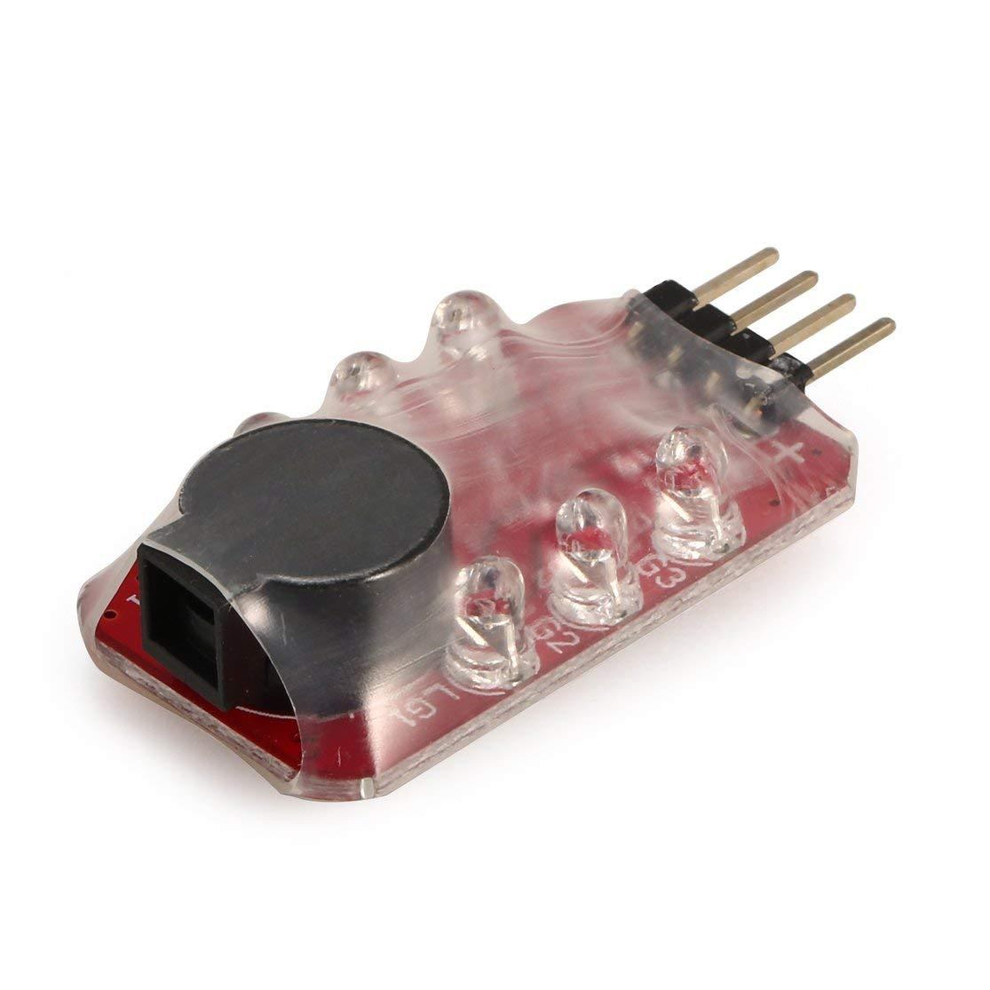 3s 11.1v Batterie lipo LouiseEvel215 Basse Batterie Lipo Tension Compteur De Tension Testeur Buzzer Indicateur Alarme Simple Haut Parleur pour 2s 7.4v