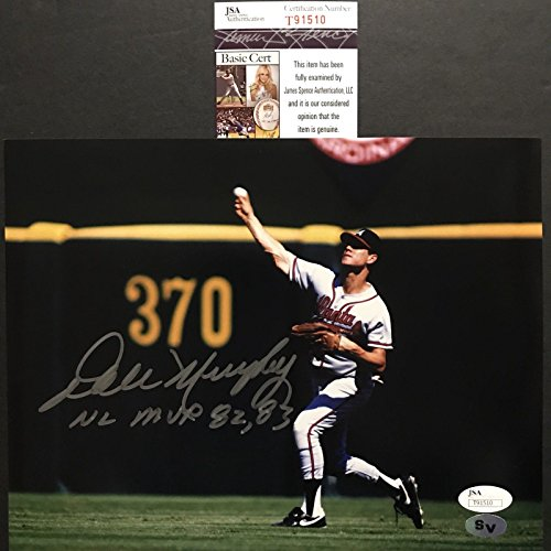 Autographed/Signed Dale Murphy