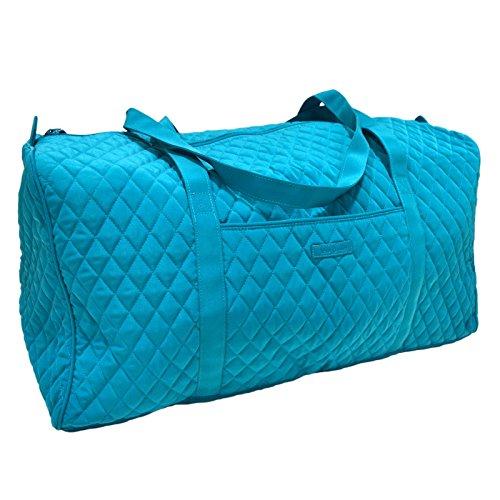 (Vera Bradley Large Duffel Bag (Peacock Blue))