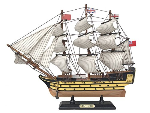 - Hampton Nautical Wooden HMS Victory Limited Tall Ship Model 15ââ'¬ - Decorative Ship - Model Boat