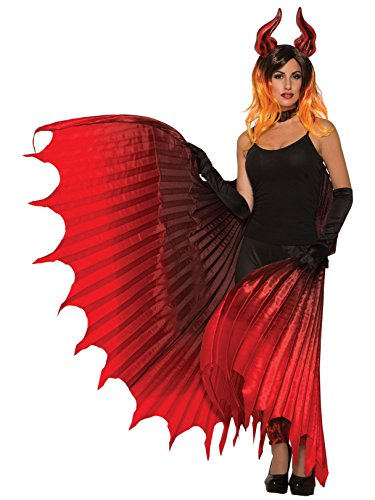 Fire Crown Costumes - Forum Novelties Devil Theatrical Demon Wings,