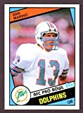 Dan Marino 1984 Topps Reprint Rookie Card with Original Back (From 2012 Topps Rookie Reprints) (Dolphins)
